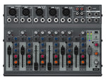 Behringer 10 inputs battery powered