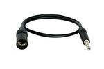Digiflex Studio Series male XLR to 1/4 TRS cable