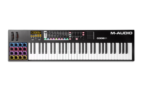 M-AUDIO Code 61 -  USB MIDI Controller with X/Y Pad (Black)