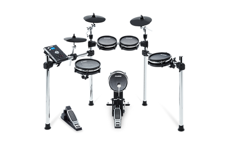 COMMAND MESH KIT -  Eight-Piece Electronic Drum Kit with Mesh Heads