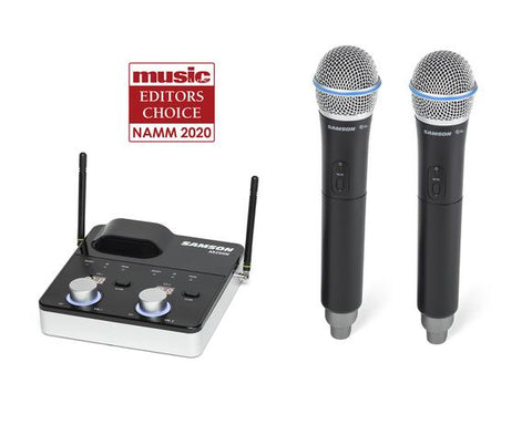 Concert 288m Handheld - Dual-Channel Wireless Microphone System