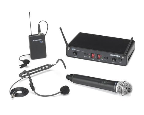 Concert 288 All-In-One - Dual-Channel Wireless Microphone System