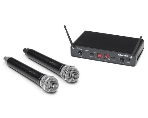 Concert 288 Handheld - Dual-Channel Wireless microphone System