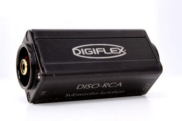 DISO-RCA - Single channel 1:1 isolation barrel with RCA connectors