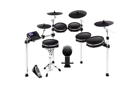 DM10 MKII PRO KIT - Premium Ten-Piece Electronic Drum Kit with Mesh Heads