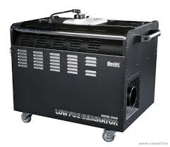 1,500 W DMX low lying fog machine