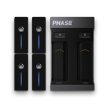 Phase Ultimate - 2-Channel Motion Detection DVS System w/4 Remotes