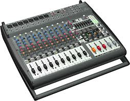 1600-Watt 16-Channel Powered Mixer with Multi-FX Processor