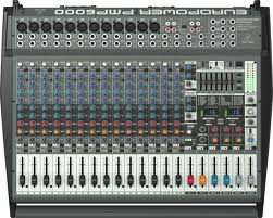 1600-Watt 20-Channel Powered Mixer with Dual Multi-FX Processor