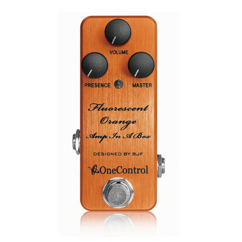 FLUORESCENT-ORANGE Distortion Pedal