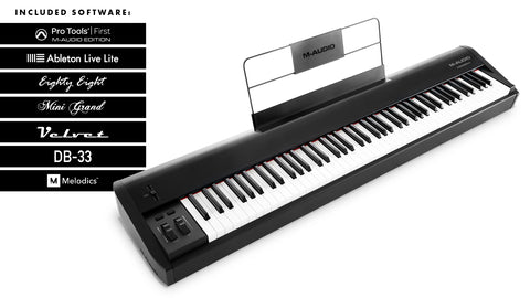 M-AUDIO HAMMER88 - 88-Key Hammer Action USB MIDI Controller