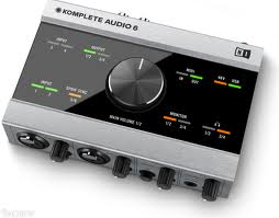6-channel audio interface