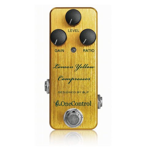 LEMON-YELLOW Compressor Pedal