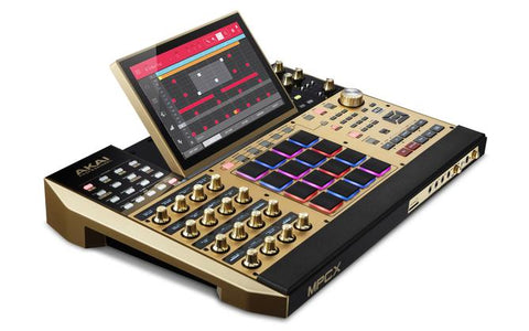 AKAI MPC X - Standalone Portable Music Production Centre Gold Limited Edition