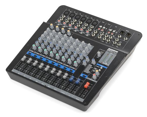 MixPad® MXP144FX - 14-Input Analog Stereo Mixer with Effects and USB