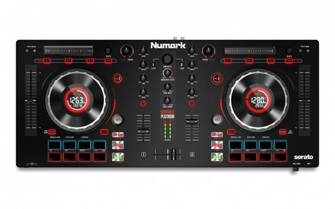 Mixtrack Platinum - DJ Controller With Jog Wheel Display