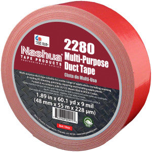 "Multi-Purpose 2"" Duct Tape Red (180')"
