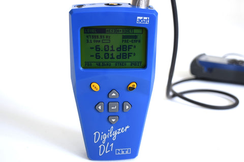 NTI Digilyzer DL1 - Powerful digital audio analyzer