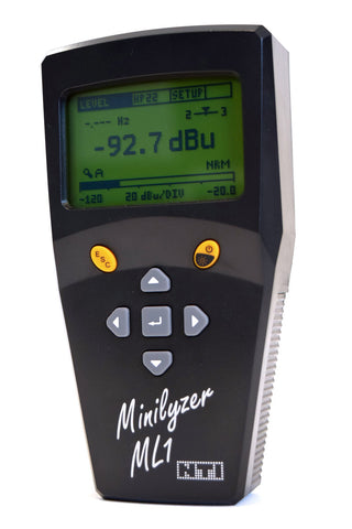 NTI Minilyzer ML1 - Powerful audio analyzer