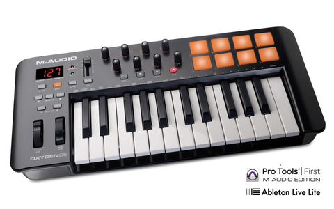 M-AUDIO Oxygen 25 MK IV - USB MIDI Performance Keyboard Controller