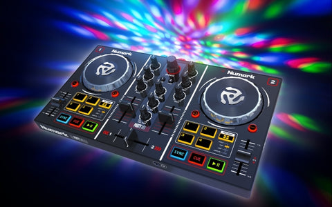NUMARK Party Mix - DJ Controller with Built In Light Show