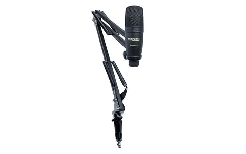 Pod Pack 1 - USB Microphone with Broadcast Stand and Cable