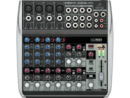 12-Input 2-Bus Mixer with XENYX Mic Preamps and USB/Audio Interf