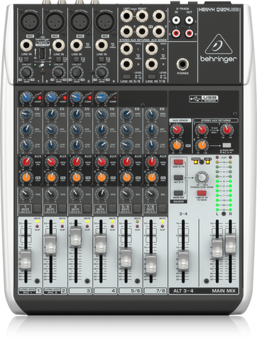 XENYX Q1204USB - 12 inputs analog mixer board with USB