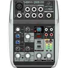 5-Input 2-Bus Mixer with XENYX Mic Preamp and USB/Audio Interfac