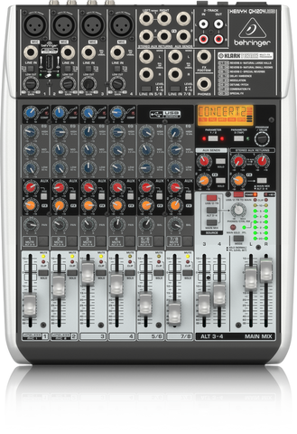QX1204USB - 16 inputs analog mixer board with USB/FX