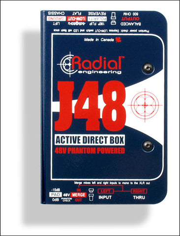 Radial Phantom Powered Active Direct Box