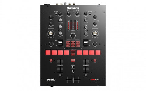 Numark Scratch - 2-Channel Scratch Mixer for Serato DJ Pro