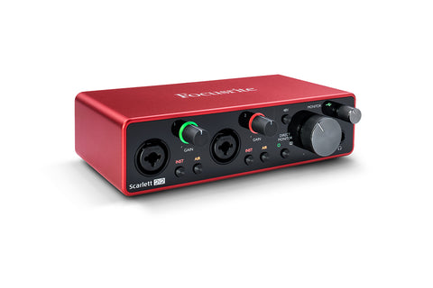 Scarlett 2i2 3rd Gen - USB Audio Interface