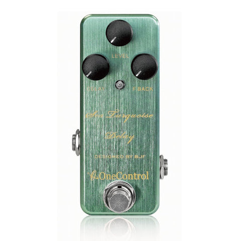 SEA-TURQUOISE Delay Pedal