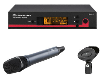 Sennheiser UHF wireless microphone