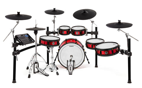 STRIKE PRO SPECIAL EDITION - Eleven-Piece Professional Electronic Drum Kit with Mesh Heads