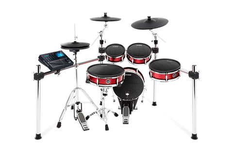 STRIKE KIT - Eight-Piece Professional Electronic Drum Kit with Mesh Heads