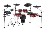 STRIKE PRO KIT - Eleven-Piece Professional Electronic Drum Kit with Mesh Heads