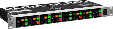 Professional Mains/Phantom Powered 8-Channel DI-Box