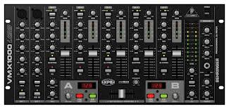 Professional 7-Channel Rack-Mount DJ Mixer with USB/Audio Interf