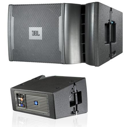 JBL line array self powered speaker