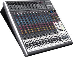 24-Input 4/2-Bus Mixer with XENYX Mic Preamps USB/Audio Interfac