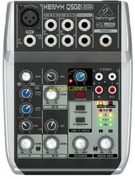5-Input 2-Bus Mixer with XENYX Mic Preamp and British EQ