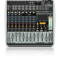 Premium 16-Input 2/2-Bus Mixer with XENYX Mic Preamps