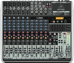 Premium 18-Input 3/2-Bus Mixer with XENYX Mic Preamps