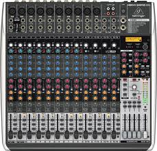 Premium 24-Input 4/2-Bus Mixer with XENYX Mic Preamps