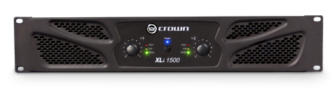 CROWN XLi 1500 - Two-channel, 450W @ 4Ω Power Amplifier