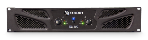 CROWN XLi 800 - Two-channel, 300W @ 4Ω Power Amplifier