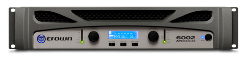 CROWN XTi 6002 - Two-channel, 2100W @ 4Ω Power Amplifier