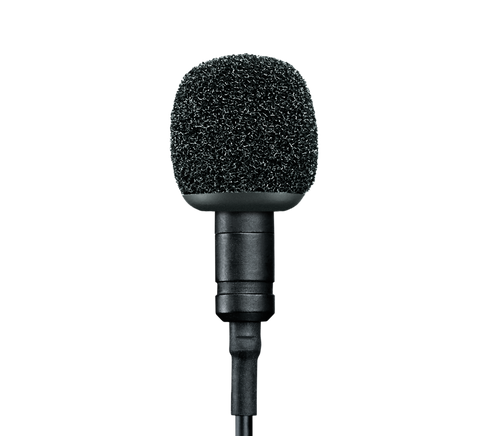 MVL/A - Omnidirectional condenser Lavalier microphone
